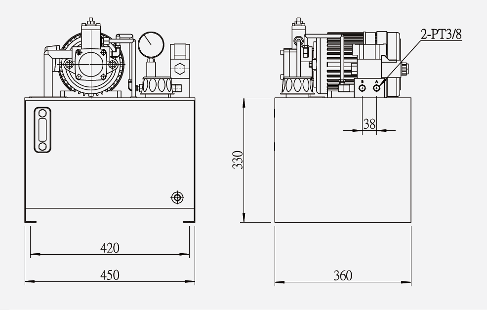 HE-35 Hydraulic Power Unit