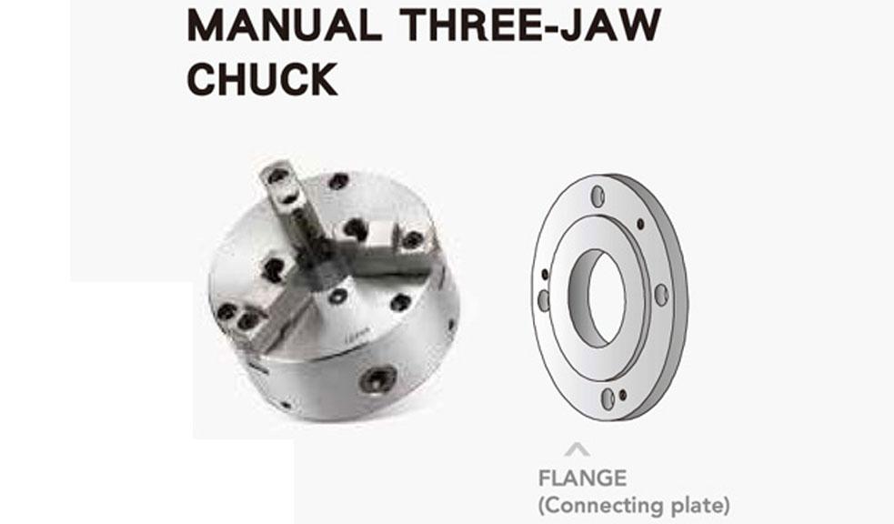 Manual Three-Jaw Chuck