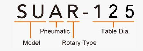 SUAR-125 Rotary Tailstock Pneumatic Brake
