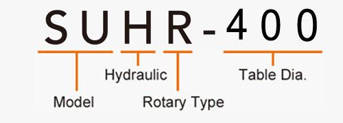 SUHR-400 Rotary Tailstock Hydraulic Brake