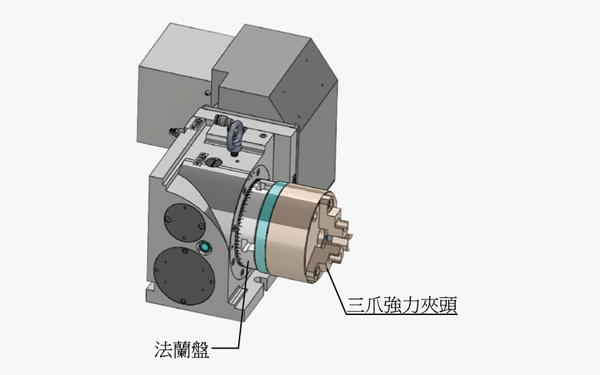 Powerful Three-Jaw Chuck